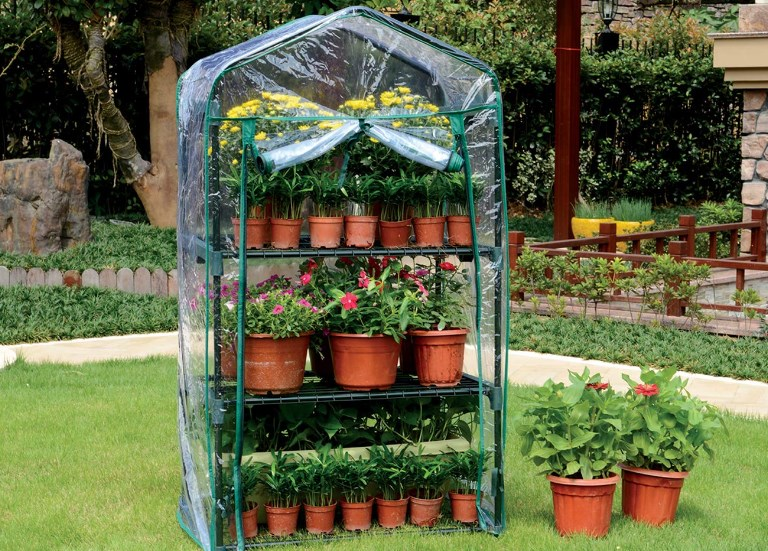 best backyard small portable greenhouse kit
