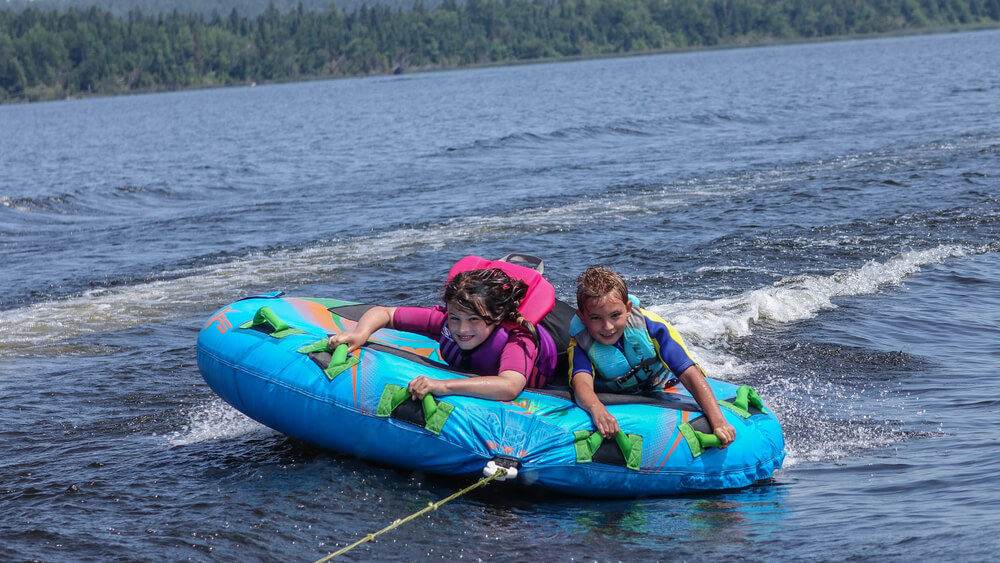 tips for tubing behind a boat